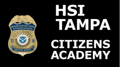 HSI Tampa Citizens Academy