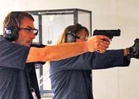 NFTTU staff test-fires handguns