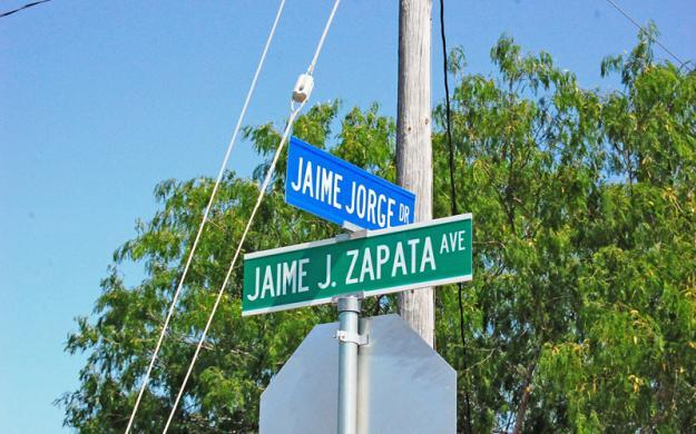 City of Brownsville names streets after ICE special agent Jaime J. Zapata