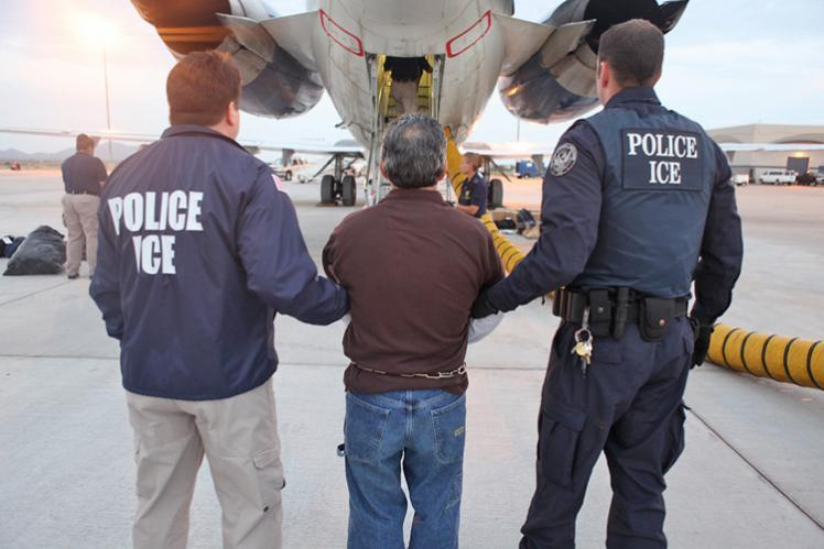 Pedro Pimentel Rios, a Santa Ana, Calif., resident wanted in his native country of Guatemala on criminal charges for his role in the Dos Erres massacre - Deported July 12, 2011