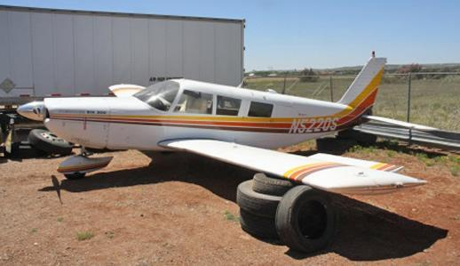 A Kentucky man pleads guilty to federal marijuana trafficking charges after he crash landed this aircraft carrying 424.8 pounds of marijuana onto a New Mexico ranch