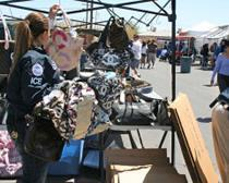 ICE seizes nearly $900,000 in counterfeit merchandise at El Paso flea market