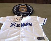 HSI, Kansas City-area law enforcement seize more than $540,000 in fake MLB merchandise