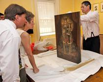 ICE returns stolen and looted art and antiquities to Peru