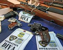 33 arrested, 28 guns seized in federally-led gang crackdown