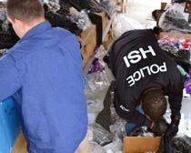 HSI seizes $425,000 in counterfeit merchandise from Alabama flea market