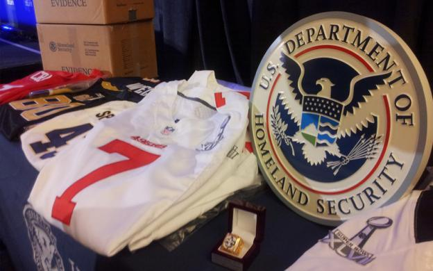 TOP STORY: 'Operation Red Zone' nabs $17.3 million in fake NFL merchandise