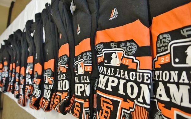 Feds donate seized San Francisco Giants clothing to charity