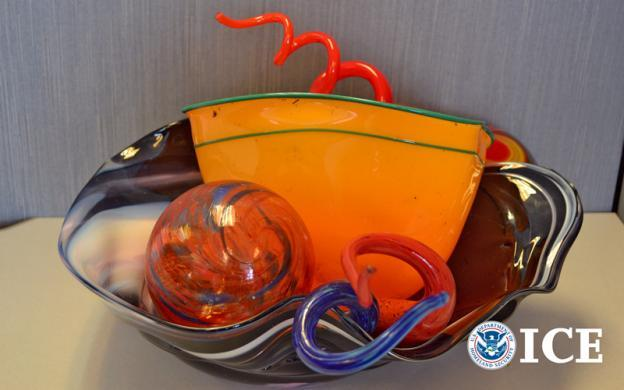 Seattle-area man who sold fake Chihuly glass pleads guilty to wire fraud