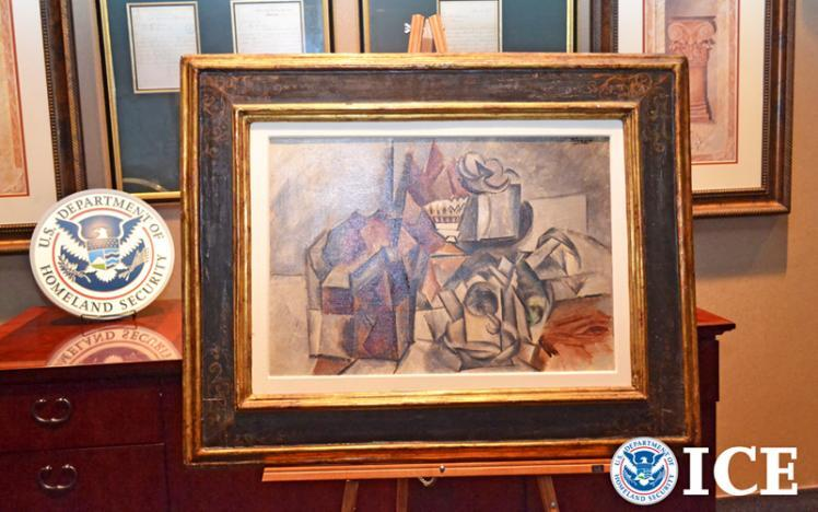 US restrains 1909 Pablo Picasso painting valued at $11.5 million