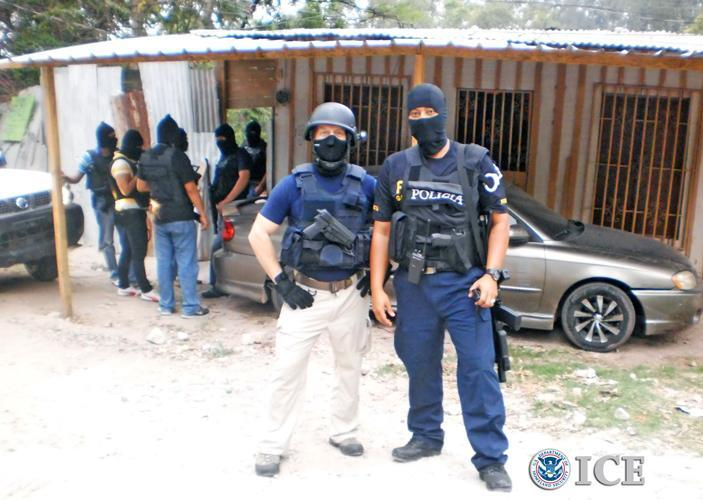 207 gang members arrested in Central America in HSI-led operation