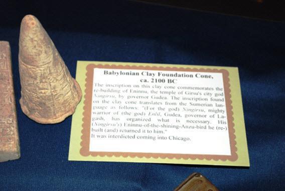 ICE returns artifacts and antiquities to Iraq Embassy