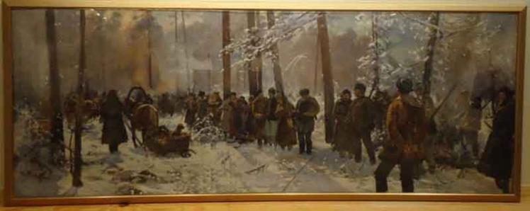 ICE and US attorney return stolen paintings