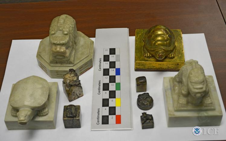 HSI seizes 9 ancient Korean artifacts in Southern California