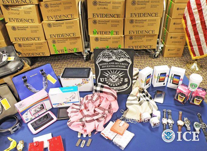 HSI El Paso seizes nearly $3.5 million in counterfeit merchandise