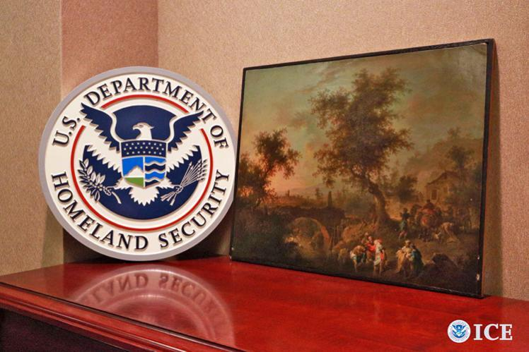 HSI and Manhattan US attorney return Nazi-German looted painting to Poland