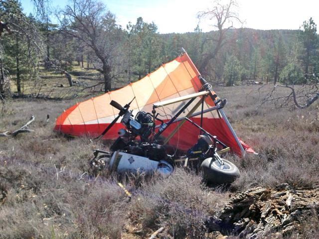 Ultralight aircraft carrying marijuana crashes in mountains east of San Diego