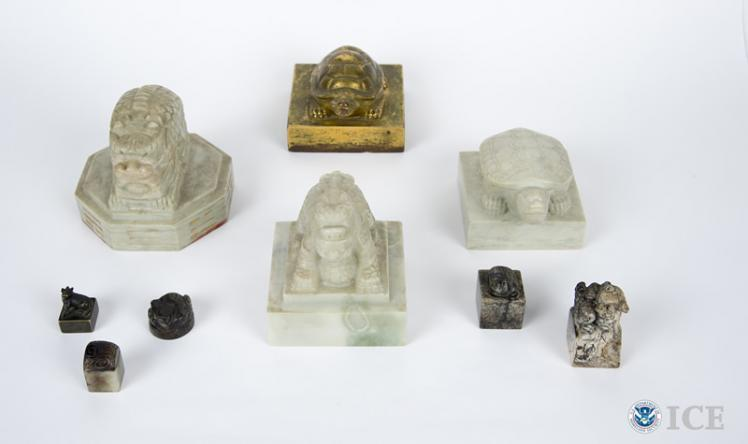 HSI returns 9 ancient artifacts to South Korea