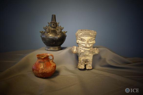 25 Peruvian cultural treasures returned to the government of Peru