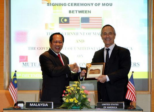 DHS, Malaysia sign memorandum of cooperation enhancing customs information-sharing