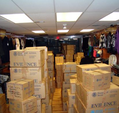 HSI seizes more than $1 million in counterfeit goods from Detroit retailer
