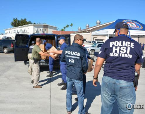 ICE, Caribbean Corridor Strike Force seize $29 million worth of cocaine, arrest 13