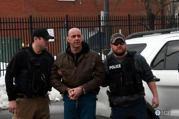 Alain Painchaud, 46, of Sasseville, Québec, was repatriated to Canada via ground transportation from Chicago and turned over to the custody of Canadian authorities at the Detroit-Windsor Tunnel.