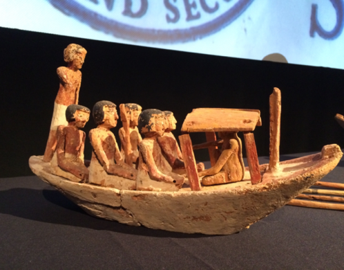 ICE returns ancient artifacts to Egypt at National Geographic Society