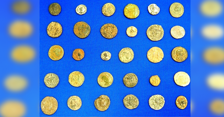 ICE, CBP seize illegally imported ancient Roman coins