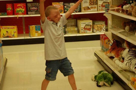 Joey Buying Toys