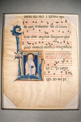 14th Century Illuminated Manuscript