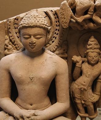 Buff Sandstone Stele of Rishabhanata