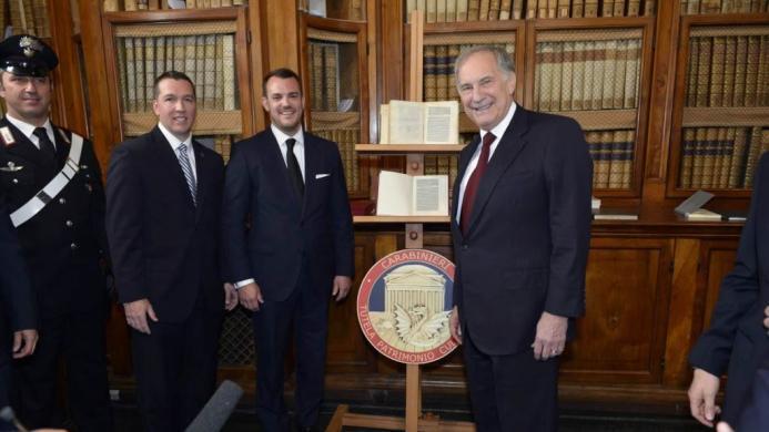 Mark Olexa, Jamie McCall and the Ambassador
