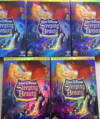 Counterfeit DVDS of Disney movies and TV shows