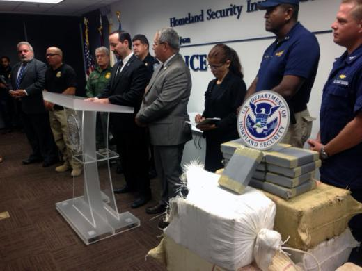 ICE, Caribbean Corridor Strike Force partners seize $60 million worth of cocaine, marijuana