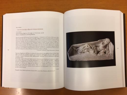 Sleeping Ariadne Book Entry
