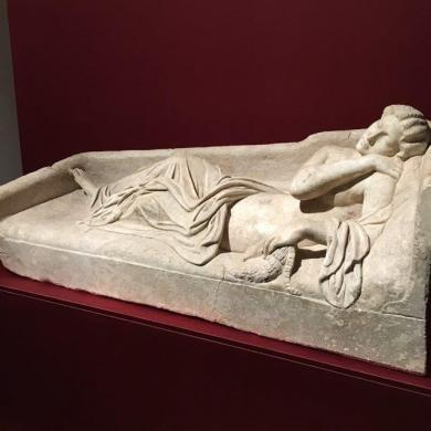 Sleeping Ariadne Displayed at Uffizi
