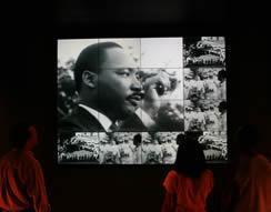 Museum of Tolerance Exhibit - Photo Credit: Bart Bartholomew, Simon Wiesenthal Center