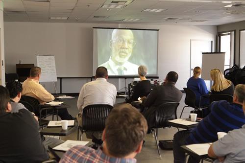 Watching Video Presentation