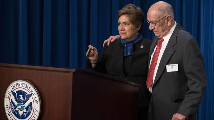 Director Sarah R. Saldaña retires from government service