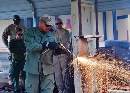 ICE OTTP Operations Fort Benning, Georgia