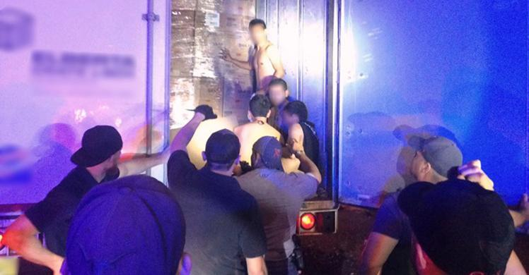 HSI El Paso special agents discover 23 illegal aliens, 250 pounds of marijuana in tractor-trailer; driver and passenger arrested on criminal charges
