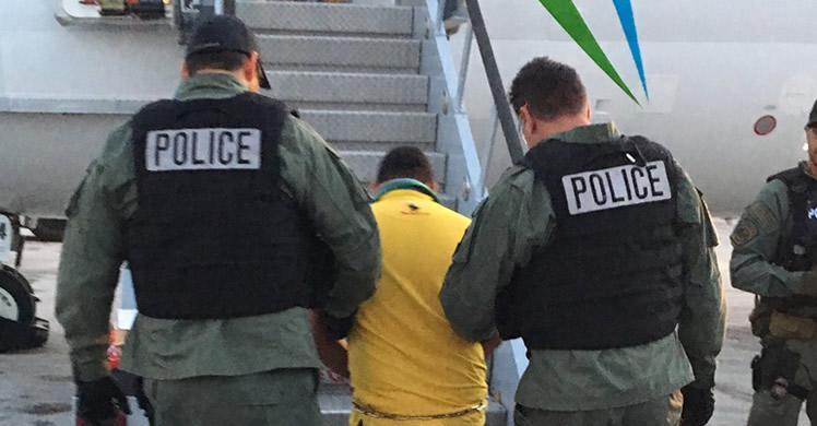 ICE removes murder suspect wanted in the Dominican Republic
