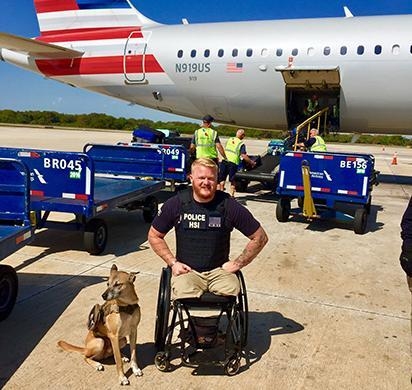 Gunner provides invaluable services to Tampa HERO, iGuardian