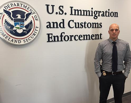 ICE officer saves man's life after plane crash