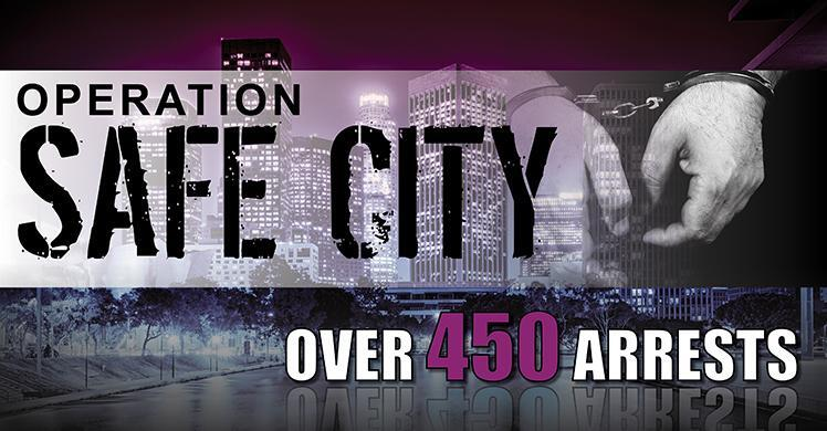 ICE arrests over 450 on federal immigration charges during Operation 'Safe City'