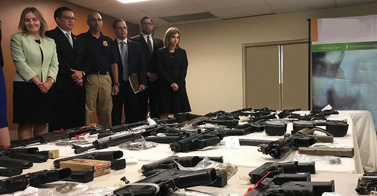 ICE, ATF, PRPD arrest 22 for firearms trafficking