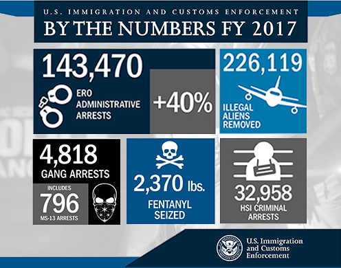 DHS announces progress in enforcing immigration laws, protecting Americans