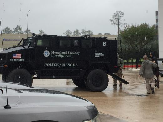 ICE deploys over 200 personnel to assist with Hurricane Harvey rescue efforts