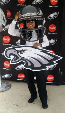 ICE ERO Philadelphia MSS flying high after Eagles Super Bowl win